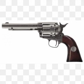 Peacemaker - Colt Single Action Army Air Gun Revolver Firearm Pistol PNG