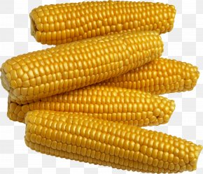 Yellow Corn Image - Maize Corn On The Cob Corn Kernel Sweet Corn Food PNG
