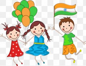 Vector Student Balloon - Indian Independence Day Child Republic Day PNG
