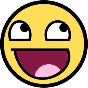 Happy Face Cartoon - T-shirt Face Clip Art PNG