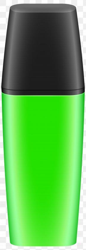 Neon Green Text Marker Clip Art Image - Marker Pen Pencil Clip Art PNG