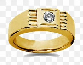 Gold Rings Transparent - Wedding Ring Colored Gold Jewellery PNG
