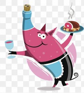 Pig - Wine Domestic Pig Buzhenina Pig Roast Barbecue PNG