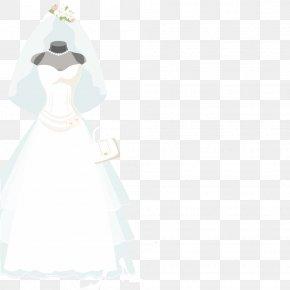 Wedding Vector - Gown Bride Figurine Costume PNG
