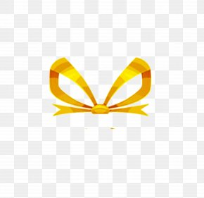 Product Golden Butterfly Knot PNG