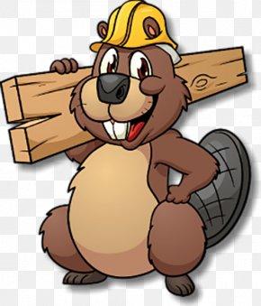 Chucky The Beaver - Cartoon Clipart (#4972655) - PinClipart