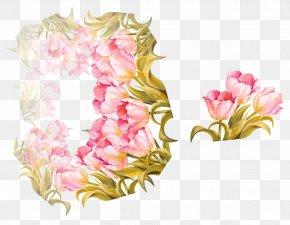 Vector Floral Decoration - Floral Design Flower PNG
