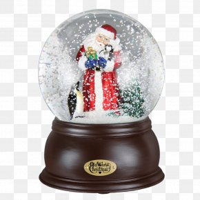 Highlight Picture Material - Santa Claus Snow Globes Christmas Ornament PNG