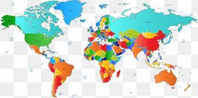 Vector Map Of The World - World Map Vector Map PNG