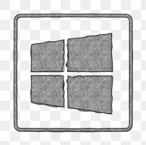 Brick Stone Wall - Icon Line PNG