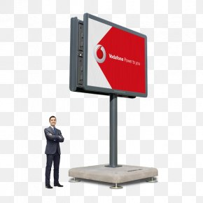 Billboard - Advertising Display Device Digital Billboard LED Display PNG