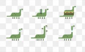 Creative Flat Design Dinosaur - Creativity Flat Design PNG