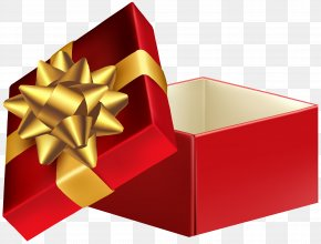 Open Gift Box Transparent Clip Art - Gift Box Clip Art PNG