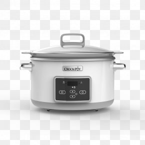 Slow Cooker - Slow Cookers Morphy Richards Sear And Stew Slow Cooker 4870 Crock Home Appliance PNG