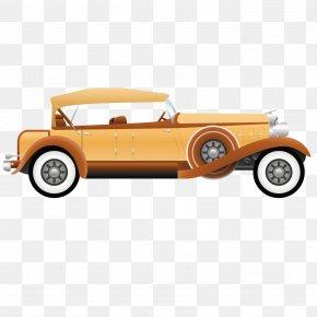Retro Classic Car - Antique Car Automotive Design PNG