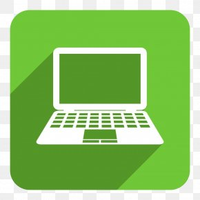 Green Laptop Icon - Laptop Stock Photography Icon PNG