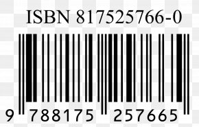 Barcode - International Standard Book Number Barcode Publishing Numerical Digit Library PNG