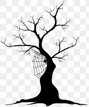 Halloween Tree Clip Art - Halloween Clip Art PNG