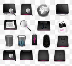 Black Theme Computer Icon - MacBook Pro Laptop Computer Icon PNG