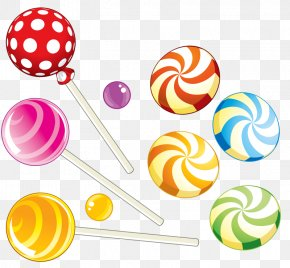 Beautiful Candy - Lollipop Gummy Bear Gummi Candy Chocolate Bar Candy Cane PNG