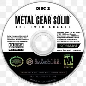 Metal Gear Solid 5 - Metal Gear Solid: The Twin Snakes Mario Party 4 GameCube Blood Omen 2 Eternal Darkness PNG