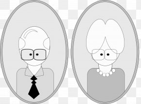Men And Women - Grandmother Grandparent Grandfather Clip Art PNG