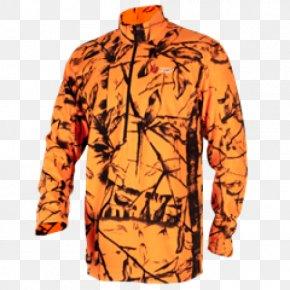T-shirt - T-shirt Safety Orange Clothing Hunting Sleeve PNG