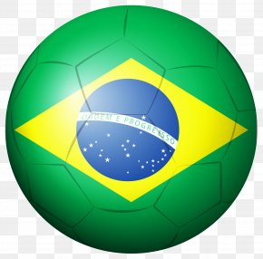 Brazil Soccer Ball Clipart Picture - Brazil National Football Team 2014 FIFA World Cup PNG