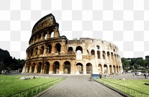 Famous Colosseum - Colosseum Palatine Hill Roman Forum Capitoline Hill Temple Of Peace, Rome PNG