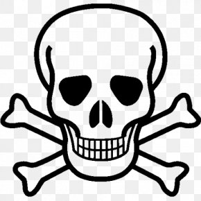 Skull - Skull And Crossbones Drawing Skull And Bones Clip Art PNG