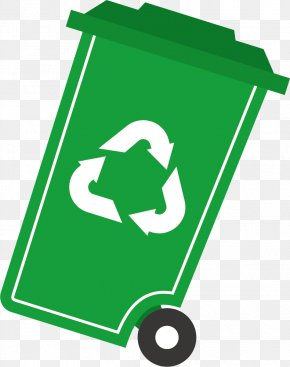 Recycle Bin - Waste Container Recycling Bin PNG