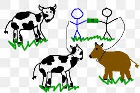 Clarabelle Cow - Cattle Goat Caprinae Sheep Mammal PNG
