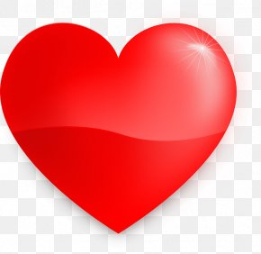 Love Heart - Heart Valentine's Day Clip Art PNG