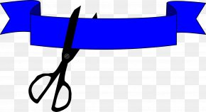 Wide Ribbon Cliparts - Opening Ceremony Ribbon Cutting Clip Art PNG