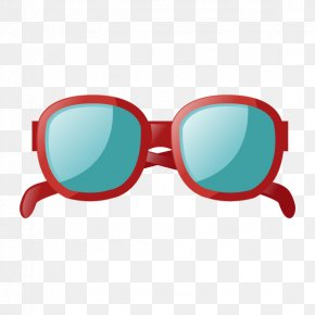 Vector Painted Sunglasses - Goggles Sunglasses Designer PNG