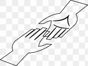 Hand Outline - Hand Clip Art PNG