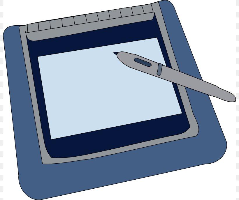 Tablet Computer Graphics Tablet Clip Art, PNG, 800x687px, Tablet Computer, Blue, Computer, Computer Accessory, Computer Graphics Download Free
