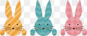 Easter Bunny - Easter Bunny Rabbit Euclidean Vector PNG