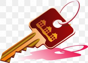 Vector Hand-painted Key - Key Illustration PNG