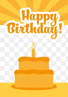 Happy Birthday - Birthday Cake Greeting Card Gift Wish PNG