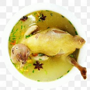 Stewed Chicken Soup - Chicken Soup White Cut Chicken Broth PNG