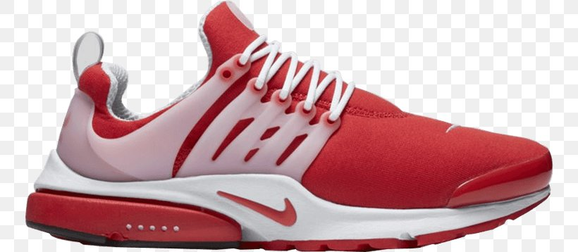 Nike Men's Air Presto Essential Shoe Sneakers Air Presto Comet Red, PNG, 750x358px, Shoe, Athletic Shoe, Basketball Shoe, Brand, Carmine Download Free
