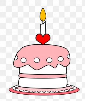 Birthday - Birthday Cake Candle Clip Art PNG