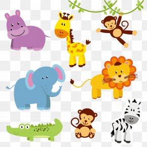 Animal - Jungle Animal Zoo Northern Giraffe Clip Art PNG