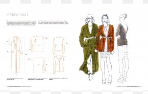 Fashion Design Creative - Knitwear Fashion Design: The Secrets Of Drawing Knitted Fabrics And Garments Graphic Design Fashion Illustration Pattern PNG