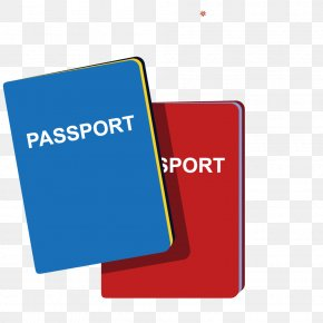 Vector Shapes Passport Book - Passport Travel Visa PNG