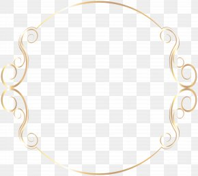 Border Frame Clip Art Image - Material Body Piercing Jewellery Pattern PNG