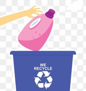Plastic Bottle Recycling Logo - Recycling Bin Paper Plastic Recycling Plastic Bag PNG