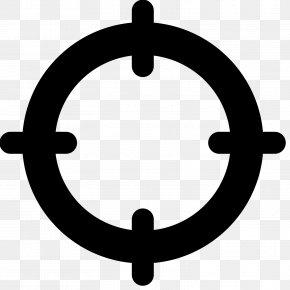 Crosshair - Map Clip Art PNG