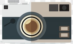 Vector Hand Drawing Camera - Camera Adobe Illustrator PNG